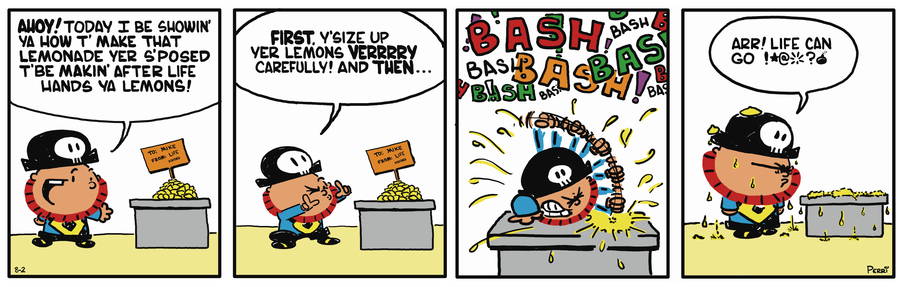 Pirate Mike Comic Strip for March 20, 2019
