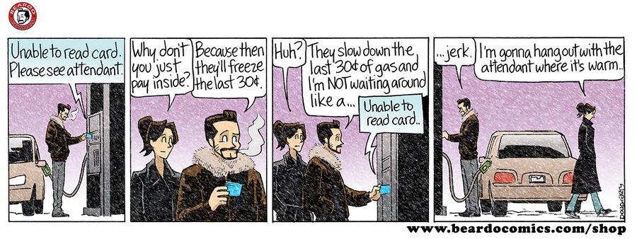 Beardo for Jul 17, 2018 Comic Strip