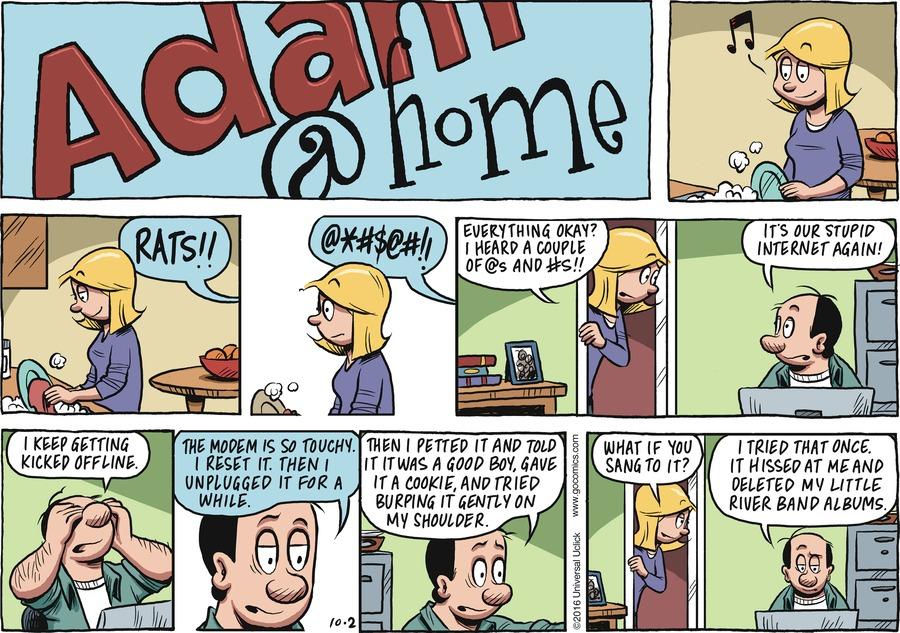 Adam@Home for Oct 2, 2016 Comic Strip