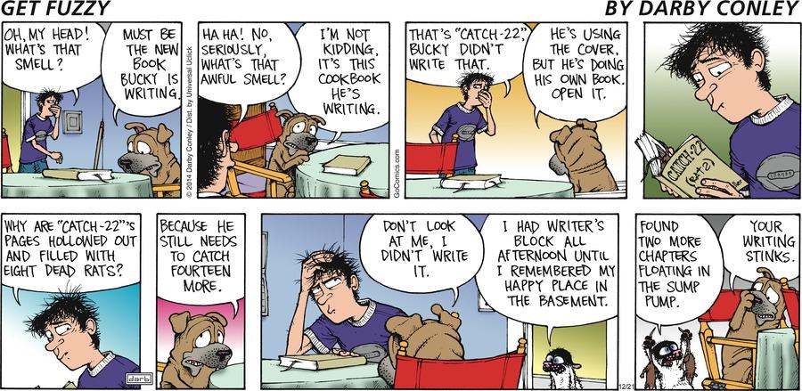 Get Fuzzy Comic Strip for December 21, 2014
