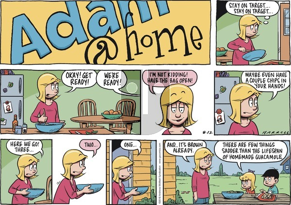 Adam@Home on Sunday August 12, 2018 Comic Strip