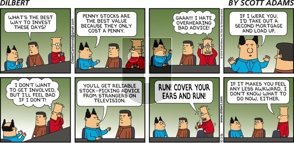 Dilbert - Sunday October 2, 2016 Comic Strip