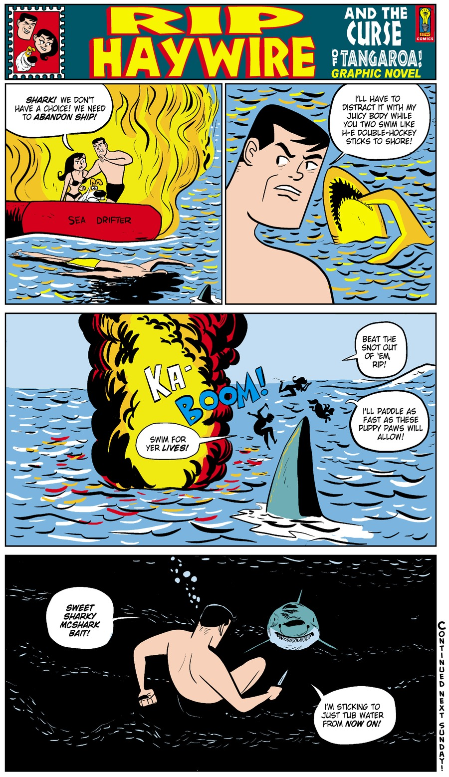 Rip Haywire Comic Strip for October 26, 2014