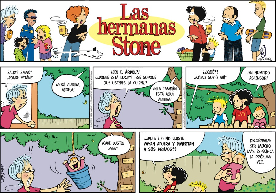 Las Hermanas Stone by Jan Eliot for Jul 8, 2018