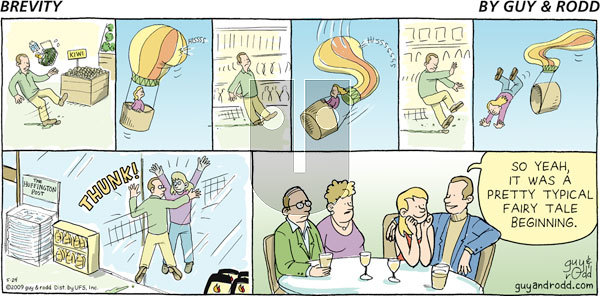 Brevity on Sunday May 24, 2009 Comic Strip