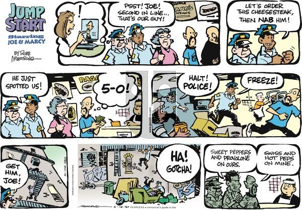 JumpStart - Sunday June 14, 2020 Comic Strip