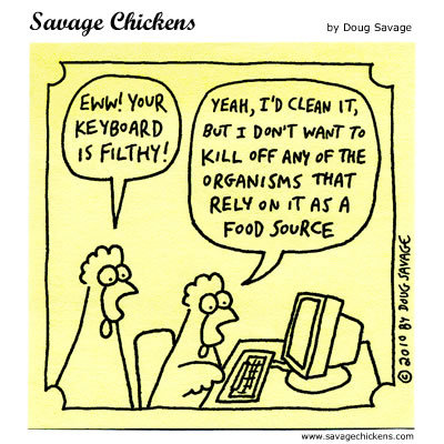 Savage Chickens Comic Strip for October 22, 2014