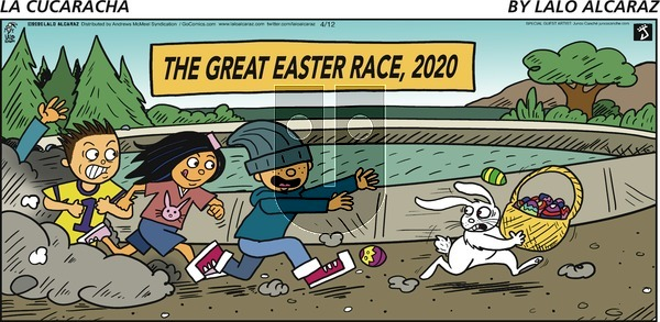 La Cucaracha on Sunday April 12, 2020 Comic Strip