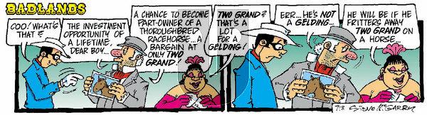 Badlands on Monday March 1, 2021 Comic Strip