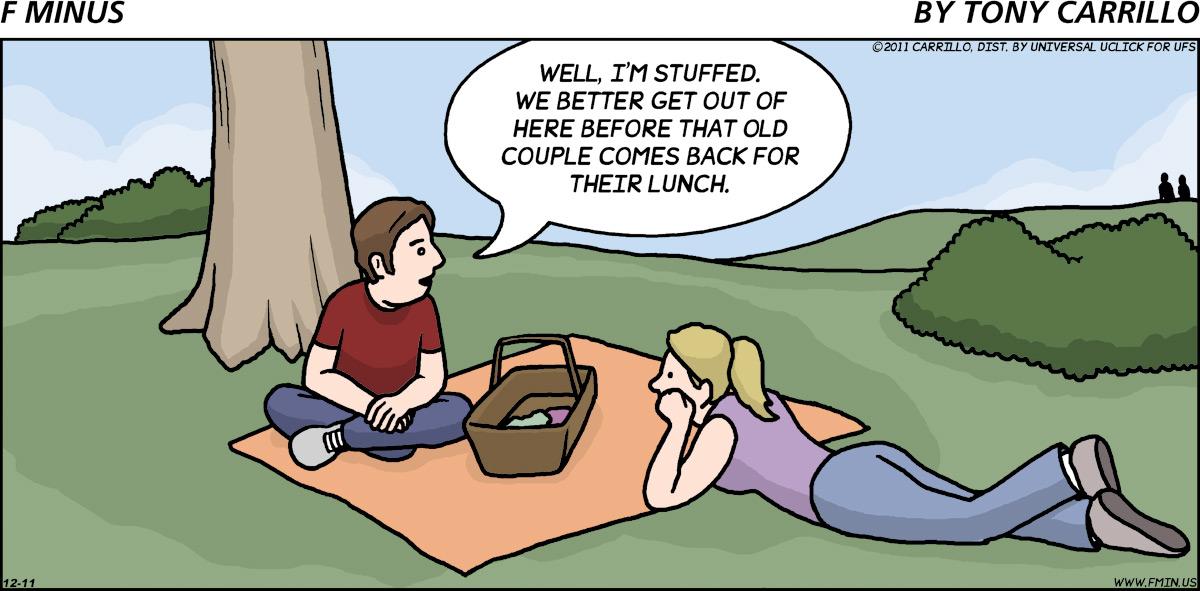 F Minus for Dec 11, 2011 Comic Strip