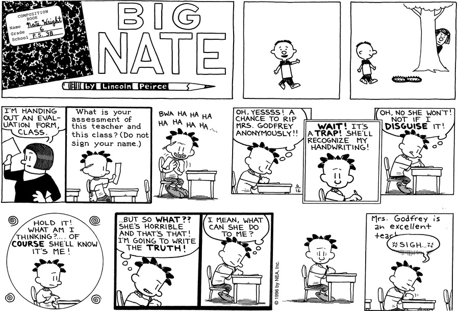 Big Nate: First Class Comic Strip for June 27, 2021
