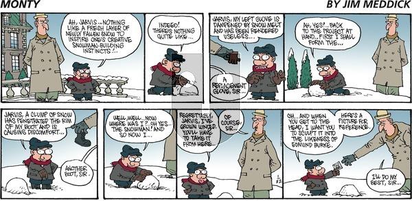 Monty on Sunday January 22, 2017 Comic Strip