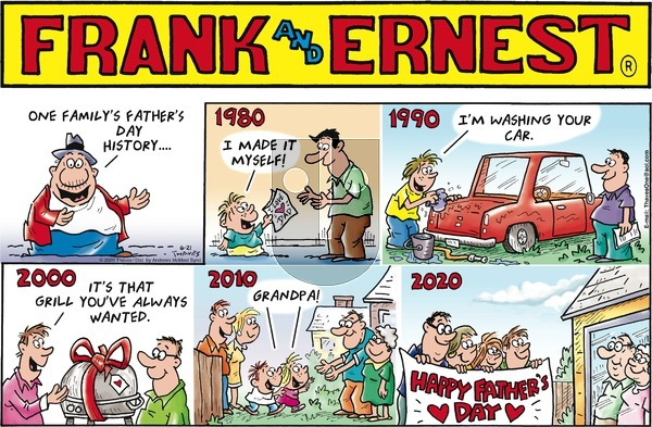 Frank and Ernest on Sunday June 21, 2020 Comic Strip