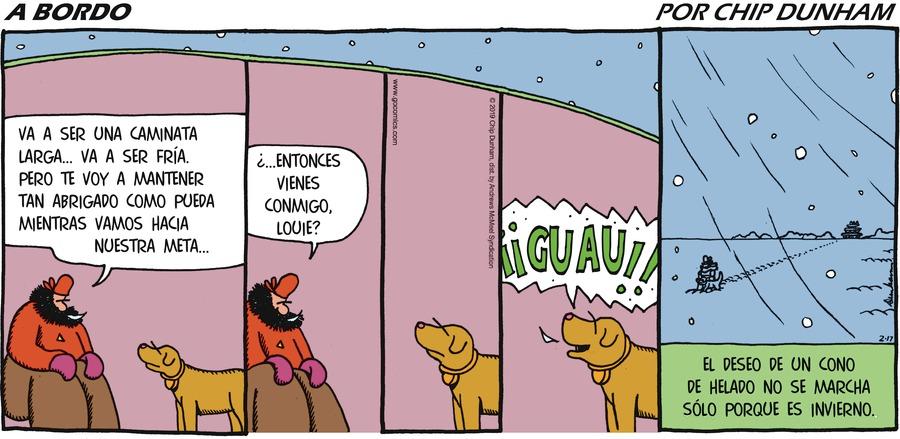 Overboard en Español Comic Strip for February 17, 2019
