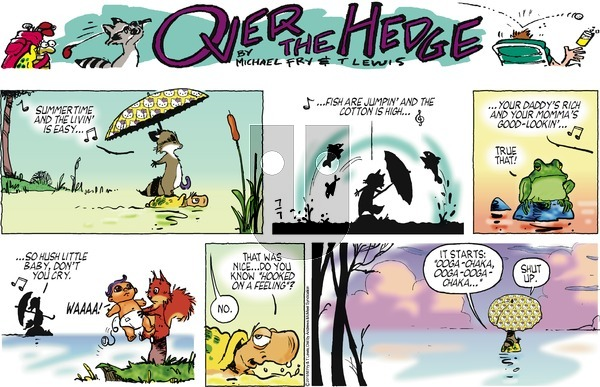 Over the Hedge on Sunday July 7, 2019 Comic Strip
