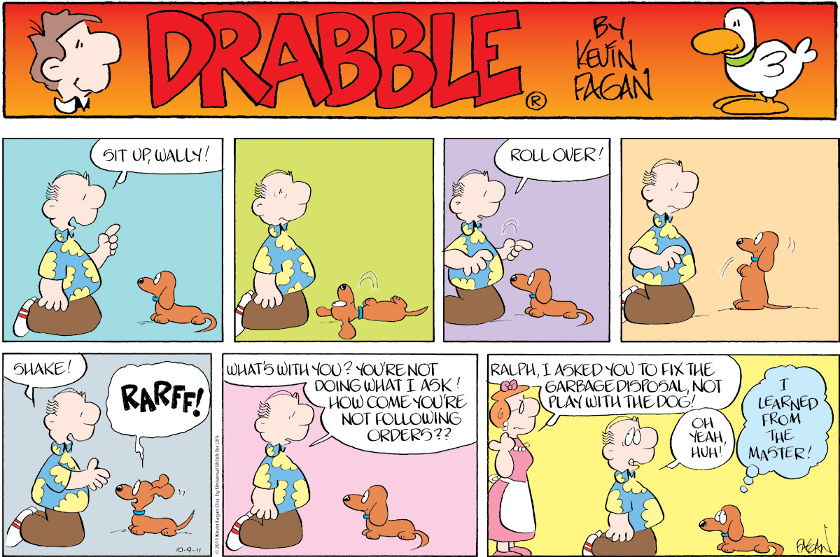 Drabble for Oct 9, 2011 Comic Strip