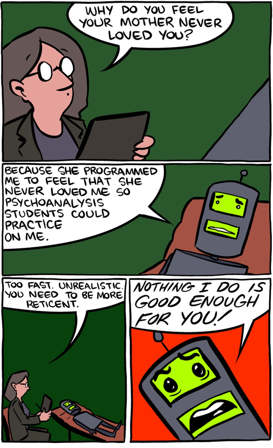 Saturday Morning Breakfast Cereal Comic Strip for March 15, 2015