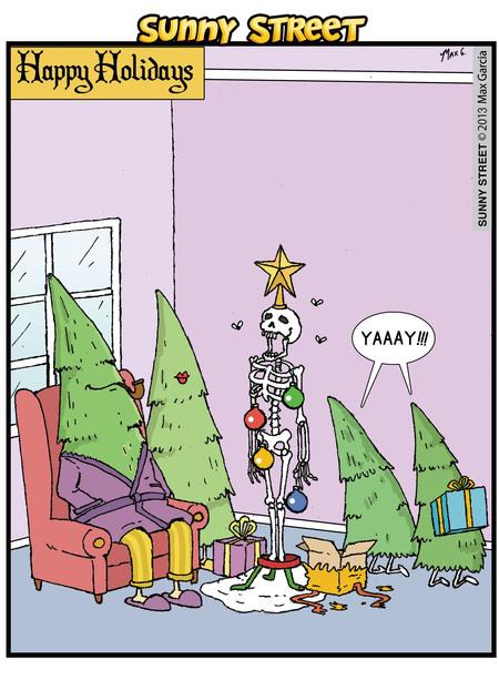 Sunny Street Comic Strip for December 25, 2013