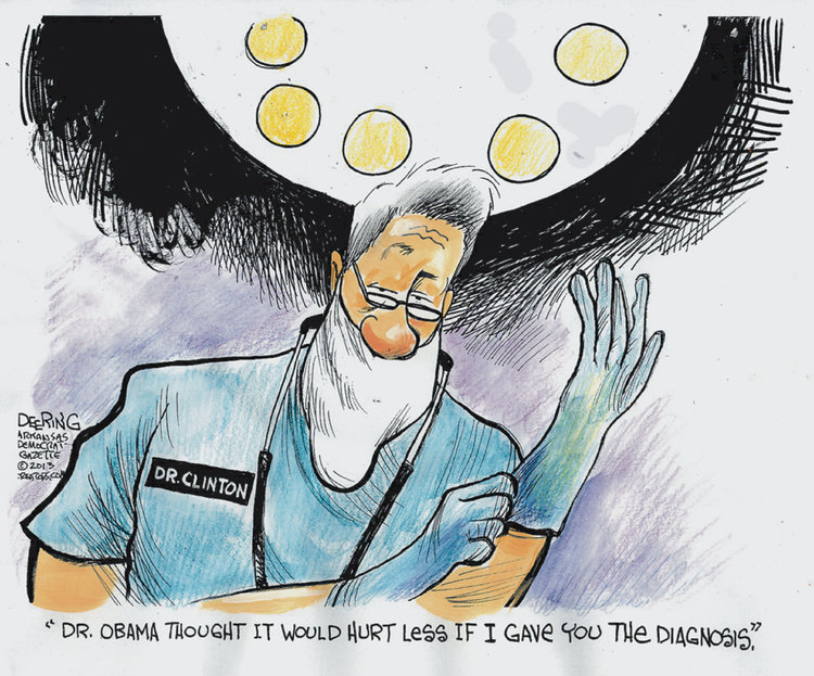 John Deering for Sep 7, 2013 Comic Strip