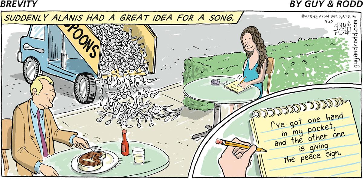 Brevity Comic Strip for April 20, 2008