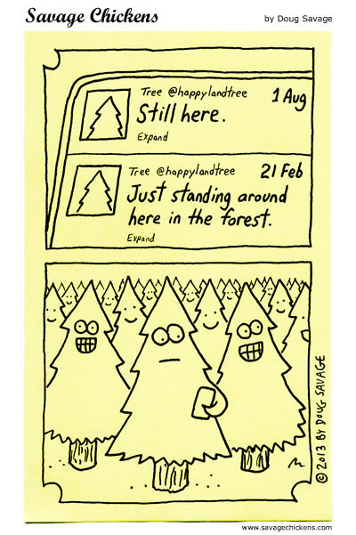 Savage Chickens Comic Strip for August 02, 2017