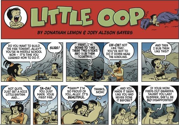 Alley Oop - Sunday July 28, 2019 Comic Strip