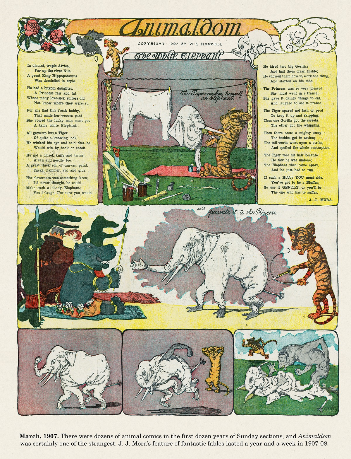 Origins of the Sunday Comics Comic Strip for July 19, 2021