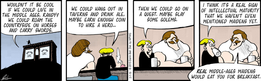 Candorville Comic Strip for February 07, 2019