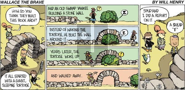Wallace the Brave on Sunday May 10, 2020 Comic Strip