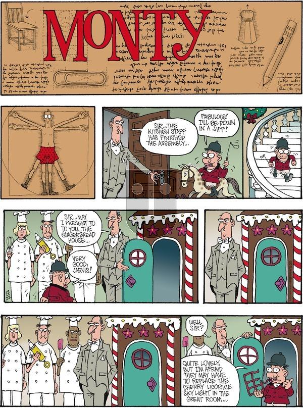 Monty on Sunday December 22, 2019 Comic Strip