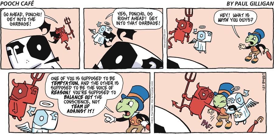 Pooch Cafe Comic Strip for January 27, 2013