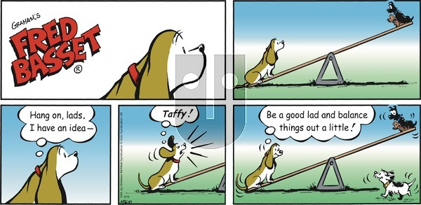 Fred Basset on Sunday August 18, 2019 Comic Strip