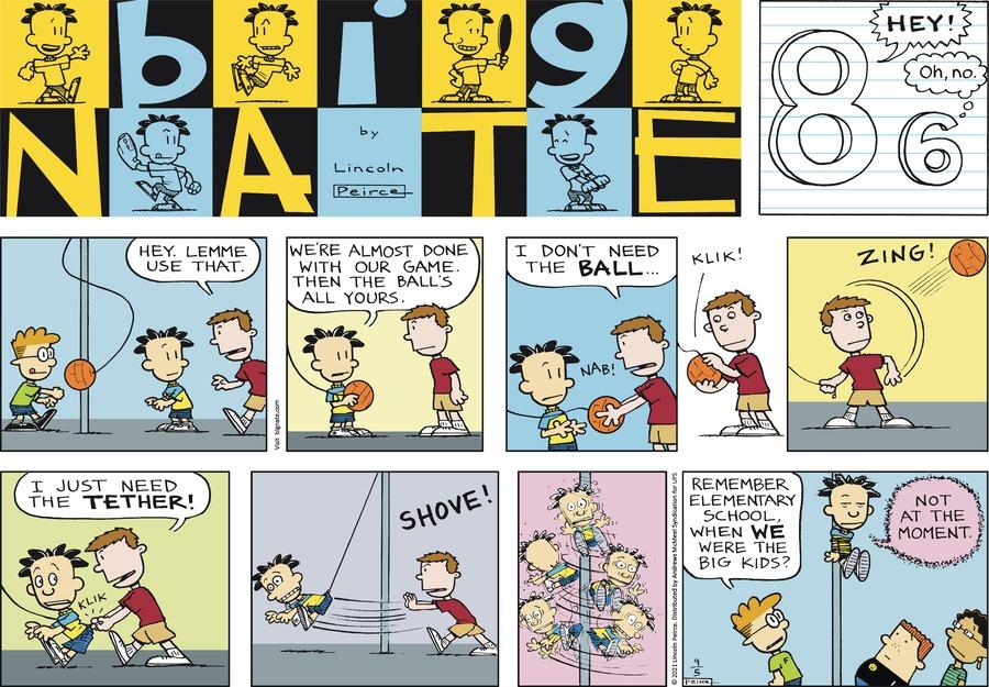 Big Nate Comic Strip for September 05, 2021