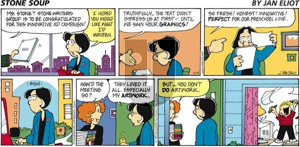 Stone Soup on Sunday November 14, 1999 Comic Strip