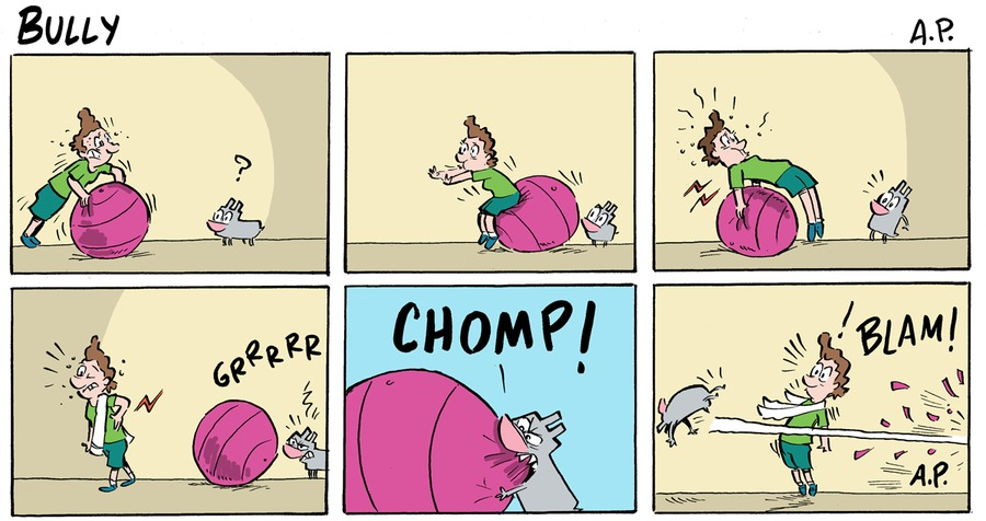 Bully Comic Strip for January 10, 2021