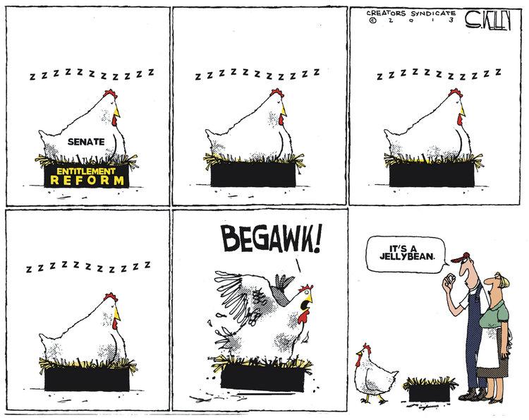 Steve Kelley Comic Strip for March 16, 2013