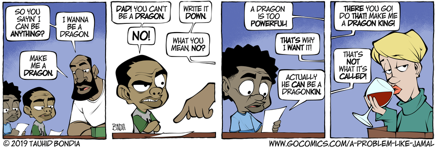 A Problem Like Jamal Comic Strip for May 15, 2019