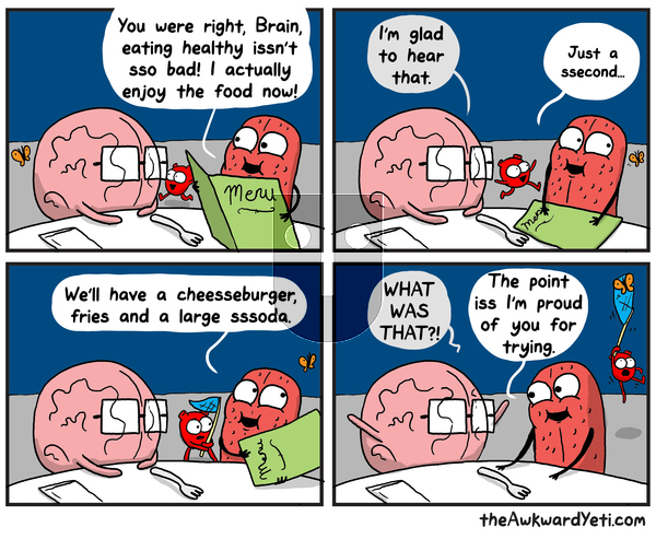 The Awkward Yeti on Monday August 12, 2019 Comic Strip