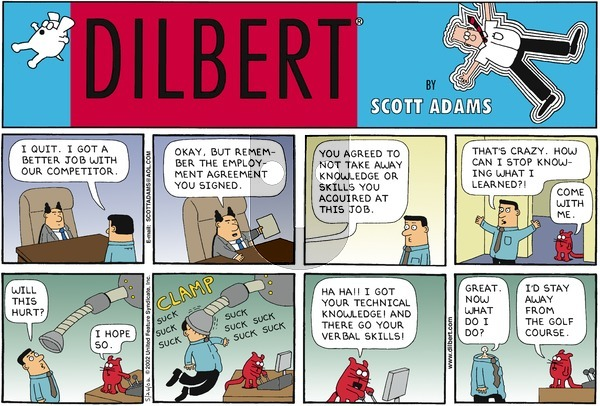 Dilbert - Sunday May 26, 2002 Comic Strip