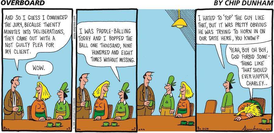 Overboard for Oct 24, 1999 Comic Strip