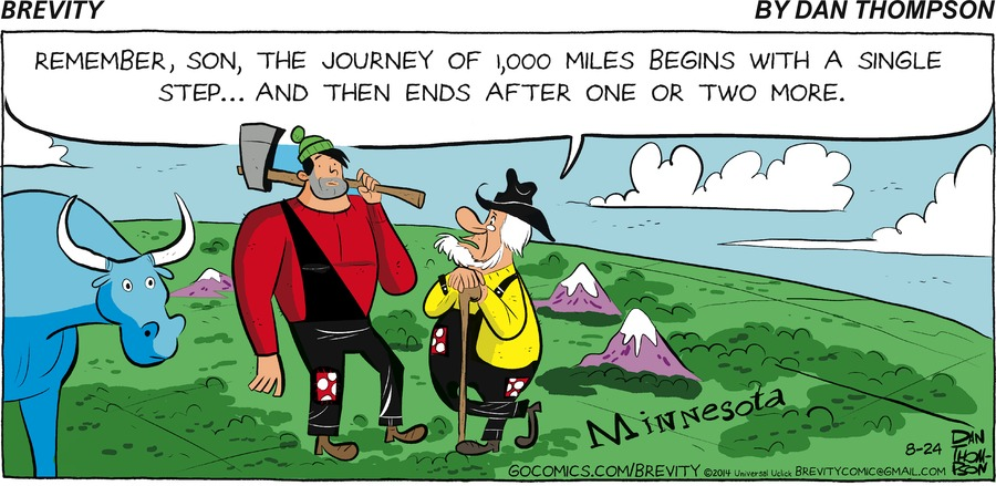 Brevity Comic Strip for August 24, 2014