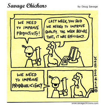 Savage Chickens Comic Strip for October 13, 2014