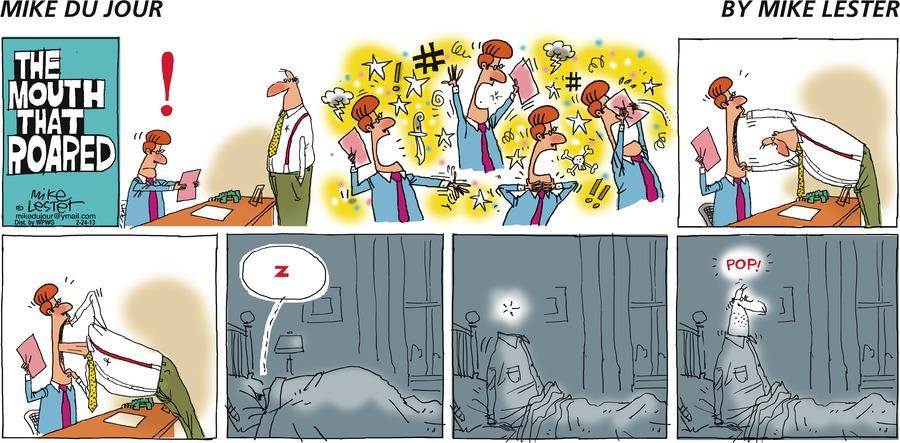 Mike du Jour Comic Strip for February 24, 2013