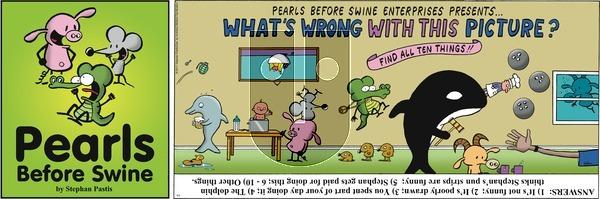 Pearls Before Swine on Sunday April 2, 2017 Comic Strip