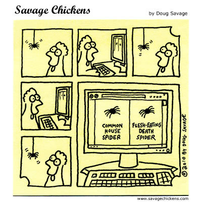Savage Chickens Comic Strip for November 06, 2014