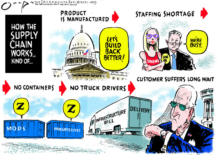 Jack Ohman Comic Strip for October 13, 2021