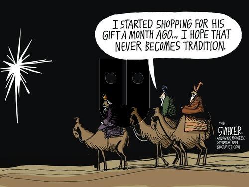 Jeff Stahler on Sunday December 23, 2018 Comic Strip