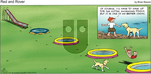 Red and Rover on Sunday August 22, 2021 Comic Strip