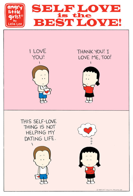 Angry Little Girls Comic Strip for February 17, 2020