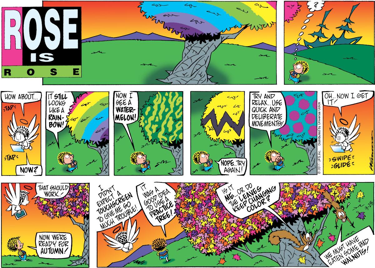 Rose is Rose Comic Strip for September 25, 2011